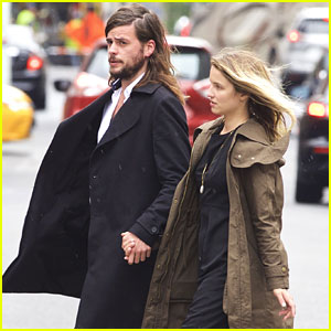Dianna Agron Reunites With Winston Marshall After Speaking in Copenhagen