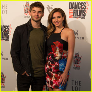 Jack Griffo Gets Support From Ryan Newman at 'Those Left Behind' Premiere