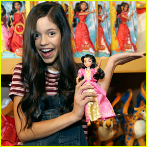 Jenna Ortega Helps Launch New 'Elena of Avalor' Products!