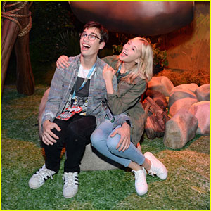 Joey Bragg & Audrey Whitby Hit Up E3 Gaming Convention After 'Liv & Maddie' Table Read