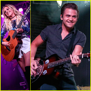Kelsea Ballerini Jams With Hunter Hayes Ahead of CMT Awards