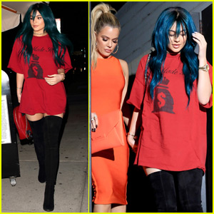 Kylie Jenner & Tyga Both Stop By 1 Oak During a Night Out