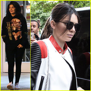 Kylie & Kendall Jenner Step Out Separately Over the Weekend