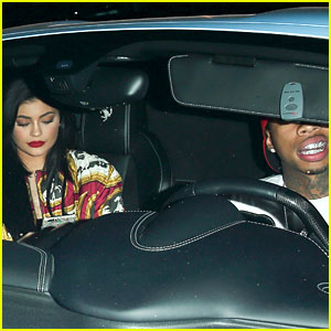 Kylie Jenner & Tyga Go to 1OAK Together