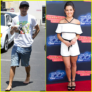 Danielle Campbell Has an Adventure in Babysitting While Louis Tomlinson Walks Around Barefoot