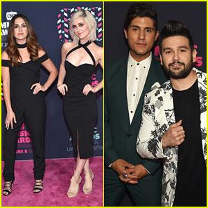 Megan & Liz Join Dan & Shay For CMT Music Awards 2016