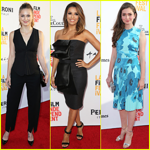 Melissa Benoist Hits Los Angeles Film Festival With Emily Robinson