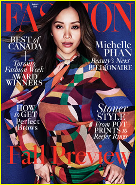 Beauty Blogger Michelle Phan Covers 'Fashion' Mag August 2016