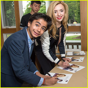 Neel Sethi & Peyton List Host Children's Acting Workshop at Greenwich Film Festival