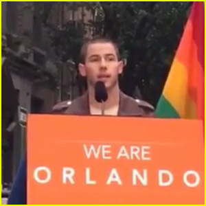 Nick Jonas Shows His Support For Victims of Orlando Shooting