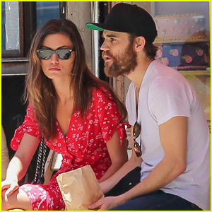 Paul Wesley & Phoebe Tonkin Have a Day Out in NYC