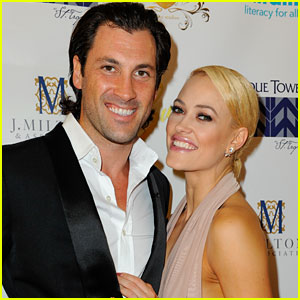 Maksim Chmerkovskiy & Peta Murgatroyd Confirm Pregnancy, Baby Due in January!