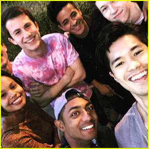 Ross Butler Shares First Cast Pic From 13 Reasons Why 13 Reasons