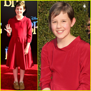 Ruby Barnhill Brings 'The BFG' to Hollywood