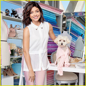 Sarah Hyland Poses With Her Dog Barkley for New Candie's Campaign!
