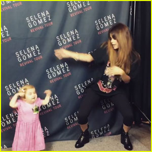 Watch Selena Gomez Dance It Up With Fan Audrey Nethery!