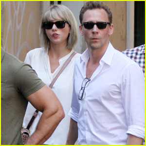 Taylor Swift & Tom Hiddleston Take a Helicopter Around Rome