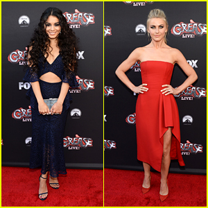Vanessa Hudgens Reunites With Julianne Hough at 'Grease: Live!' Event