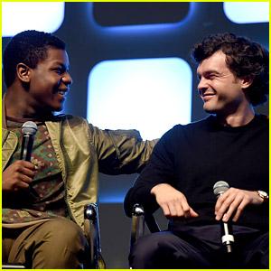John Boyega Welcomes Alden Ehrenreich to 'Star Wars' Family!