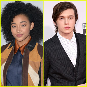 Amandla Stenberg & Nick Robinson Tapped For 'Everything Everything' Movie Adaption