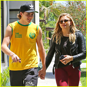 Brooklyn Beckham & Chloe Moretz Enjoy a Cute Afternoon Lunch Date!