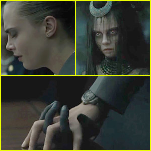 Cara Delevingne S Character Enchantress Is Introduced In New