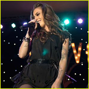 Cher Lloyd Celebrates Birthday After Performing at The Grove