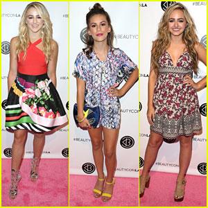Chloe Lukasiak & Sophie Reynolds Step Out For Beautycon in LA