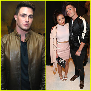 Colton Haynes Rings in 28th Birthday With Ally Maki During Men's NYFW
