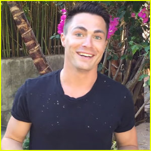 Colton Haynes Just Launched a Limited Edition Merch Line