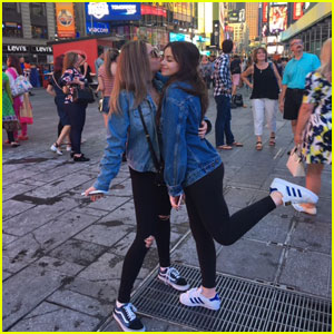 Ellise & Luna Blaise Take NYC By Storm!