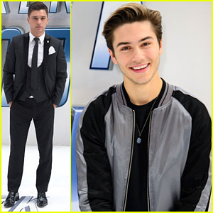 George Shelley Hits 'Star Trek Beyond' Premiere With JJ Hamblett Months After Leaving Union J
