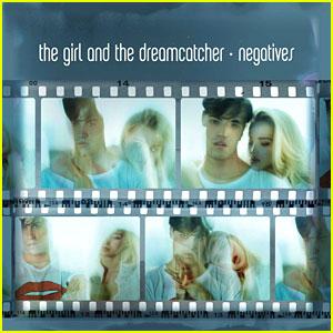 The Girl & The Dreamcatcher Reveal 'Negatives' EP Artwork!
