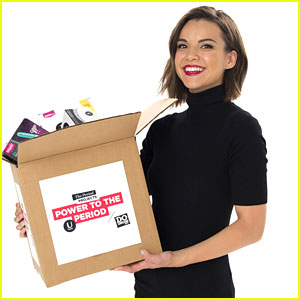 Ingrid Nilsen Gets Behind DoSomething's Power To The Period Drive