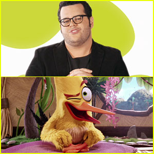 Josh Gad Dishes on Playing Chuck In 'Angry Birds Movie' Clip - Watch Now!