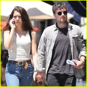 Josh Hutcherson & Claudia Traisac Hold Hands for Hollywood Shopping Spree