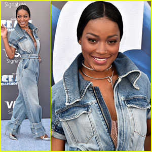 Keke Palmer Runs Into Sid & Scrat at 'Ice Age: Collision Course