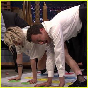 Kristen Stewart Gets Twisted on 'The Tonight Show'