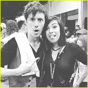 Christina grimmie photos news and videos just jared jr page 9 kurt hugo schneider gifts us with christina grimmie medley m4hsunfo
