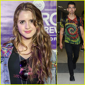 Laura Marano Steps Out For DNCE's Nitro Cold Brew Concert