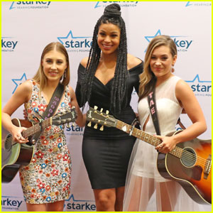 Maddie & Tae Run into Jordin Sparks at Starkey Foundation Awards Gala 2016