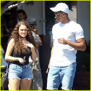 Madison Pettis Hangs With Snopp Dogg's Son Cordell Broadus in LA