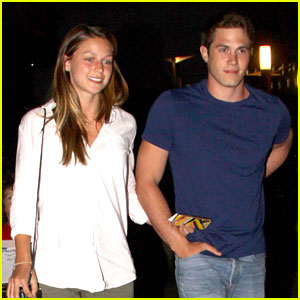 Melissa Benoist Heads To Movies With Husband Blake Jenner