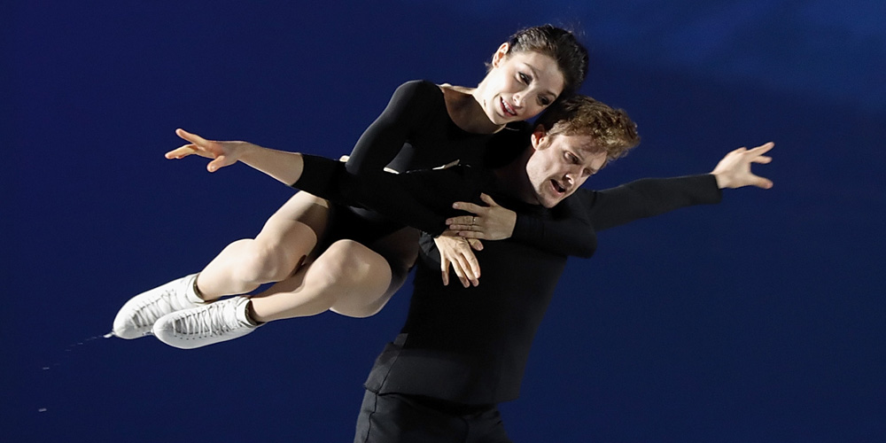 The Ladies Room Meryl Davis And Charlie White The Next: Meryl Davis & Charlie White Continue To Wow On Ice In