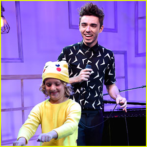 Nathan Sykes Performs at People's Now Concert Series After Announcing Debut Album
