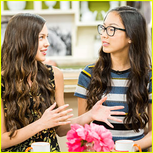 Olivia Rodrigo & Madison Hu Promote 'Bizaardvark' On Hallmark's Home & Family