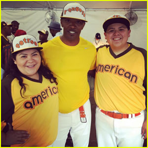 Raini & Rico Rodriguez Lead Their Team to Victory in Celebrity Softball Game