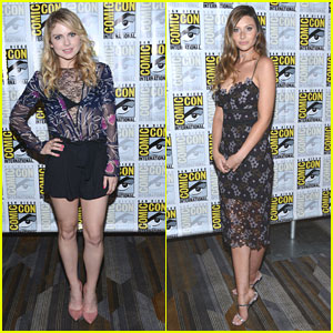 Rose McIver & Aly Michalka Hit the 'iZombie' Panel at Comic-Con 2016