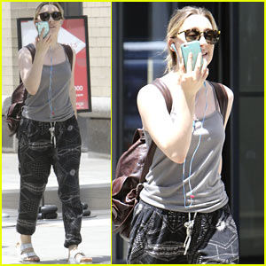 Saoirse Ronan Enjoys a Summer Stroll in NYC