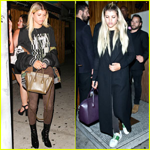 Sofia Richie Hangs at Nice Guy Before Jetting to Rome!